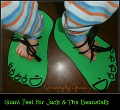 Jack and the Beanstalk     We have really  enjoyed small fables and fairy tale units the last few weeks. Recently  we spent a week on Jack...