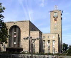 Stuttgart, Germany Train Station