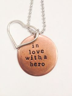 Hey, I found this really awesome Etsy listing at http://www.etsy.com/listing/153969655/hand-stamped-in-love-with-a-hero-army