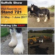 Azpects at the Suffolk Show 2017