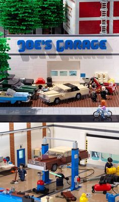 Lego cars wash