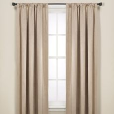 Hanover Blackout 95' Window Curtain Panel - Bed Bath & Beyond $10 each. Compare DIY and thrift prices to this. Plus it helps with insulation.