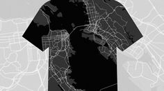 Wear Your City With Custom-Made Map Clothes   Co.Design   business + design