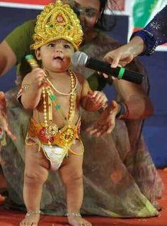 Little Krishna, Baby Krishna, Cute Krishna, Precious Children, Beautiful Children, Indian Army Quotes, Cute Kids Photography, Little Buddha, Kids Corner