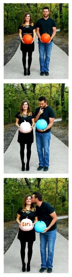 awesome fall gender reveal