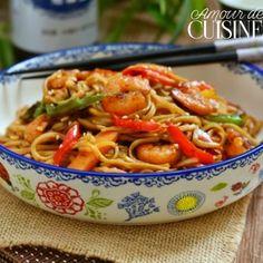 Sauteed Shrimp, One Pot Pasta, Exotic Food, Scampi, Food Goals, Shrimp Recipes, Love Food, Entrees, Macaroni And Cheese