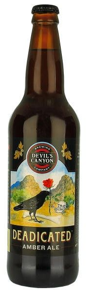 Devils Canyon Deadicated Amber Ale
