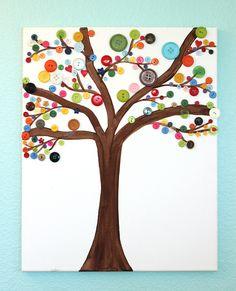 Kids Craft: Button Art