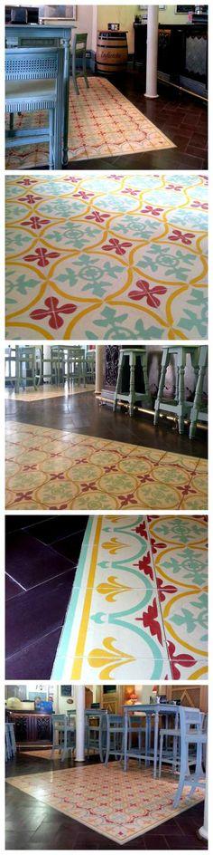 Modelo 130 y Cenefa 19 #casa #home #azulejos #tiles #restaurant #spain #spanish