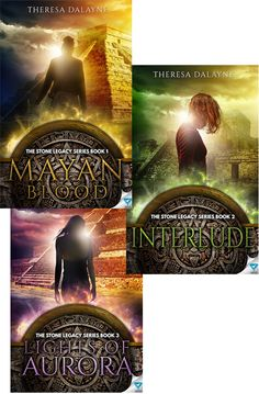 Book-o-Craze: Covers Reveal {Giveaway} -- The Stone Legacy Series #1-3 by Theresa DaLayne