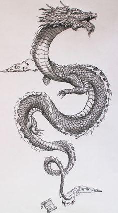 Tatto Ideas 2017 - Ancient japanese dragon on Behance. Tatto Ideas & Trends 2017 - DISCOVER Ancient japanese dragon on Behance Discovred by : A L I C E Japanese Dragon Tattoos, Japanese Sleeve Tattoos, Chinese Dragon Drawing, Chinese Tattoos, Japanese Tattoo Art, Japanese Tattoo Designs, Japanese Tattoo Samurai, Chinese Dragon Symbol, Japanese Forearm Tattoo