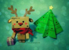 Danbo: Rudolf the Reindeer by eivven.deviantart.com on @deviantART Love it PD