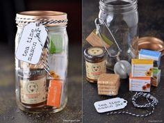 Tea Lovers Gift In A Jar