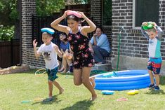 Whether you're looking for outdoor water games for kids or easy games for summer birthday parties, these 15 water games are for you! They are perfect for field day, summer camp, and more! Outdoor Water Activities, Water Balloon Games, Water Games For Kids, Summer Activities For Kids, Outdoor Games, Teamwork Activities, Outdoor Parties, Outdoor Fun, Field Day Games