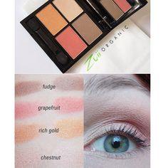 Zuii Eyeshadow Quad Palette Fresh