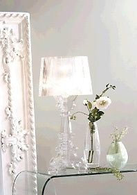 Kartell Bourgie Lamp obsession ..... Clear ....   Wishlist   Pinterest   Lamps