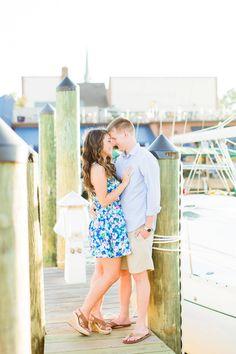 Downtown Annapolis Engagement Photo Spots | Maryland Engagement Photos | Nautical Engagement Session | Megan Kelsey Photography
