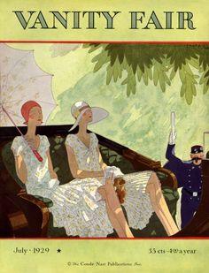 Vanity Fair cover, July 1929.