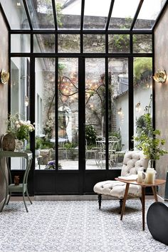 Dream garden - from Hotel Henriette Rive Gauche - Paris, France | Wallpaper* Magazine