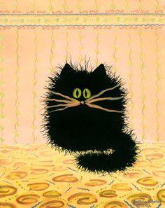 Cranky Cats by Indigo Art
