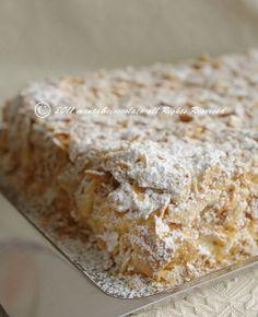 Bakery Recipes, Dessert Recipes, Cooking Recipes, Italian Desserts, Italian Recipes, Torte Cake, Brownie, Sweets Cake, Clay Food