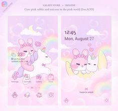 Galaxy Theme, Pink Rabbit, Cute Pink, Unicorn, Gallery, A Unicorn, Unicorns