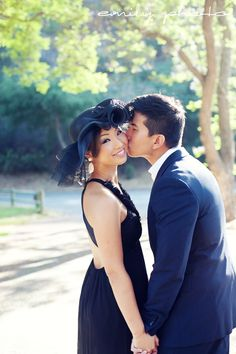 Greystone Mansion Engagement Session - Beverly Hills, CA