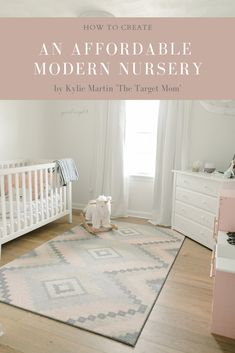Creating an affordable neutral nursery on a budget Small Nurseries, Neutral Nurseries, Nursery Neutral, Small Nursery Organization, Peter Pan Nursery, Nursery Design, Budgeting, Kids Rugs, Interiors