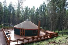 Our Mongolian Yurt  great for retreats, weddings and reunions!