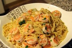 Shrimp Pasta! 4.58 stars.