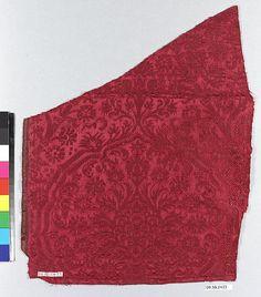 early 16th century Culture: Italian Medium: Silk Dimensions: H. 11 1/2 x W. 14 3/4 inches (29.2 x 37.5 cm)