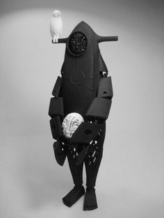 """Mani Zamani's absolutely spectacular """"MoMo the Bird Cage"""" 3D Printed Designer Toy!"""