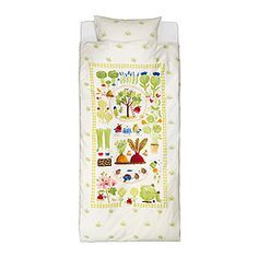 vegetable farm land duvet cover and pillowcases torva tradgard