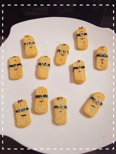 Minions will accompany ur lunch