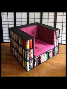 Book chair! But how to pick the books?