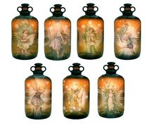 7 Vintage Flower Fairies...in Antique by phenomenon1859 on Etsy, $1.75