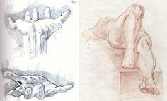 La prospettiva sul corpo umano: lo scorcio - DidatticarteBlog