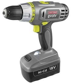 Evolv 18.0 Volt Cordless Drill/Driver $18.99 (searsoutlet.com)