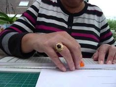 Easel Cards, Folded Cards, Diy Cards, Class Ring, Make It Yourself, Youtube, Paper, Homemade Cards, Cards Diy