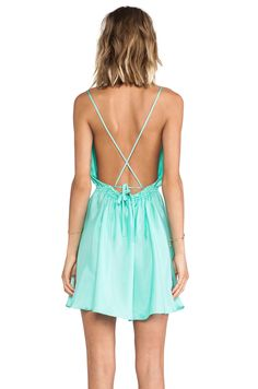 BLAQUE LABEL Mini Dress in Mint | REVOLVE