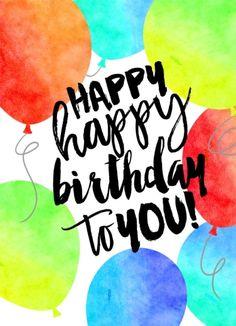 Happy Happy Balloons - CardsDirect Product No. DP6646