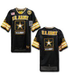 Air Force Coast Guard Navy Marines Sports Baseball Football Jersey Shirt S-2XL