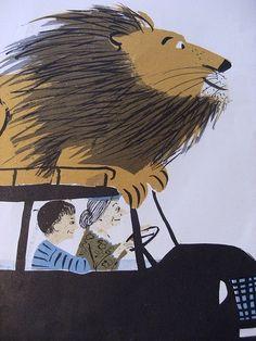 El león feliz de Roger Duvoisin y Louise Fatio