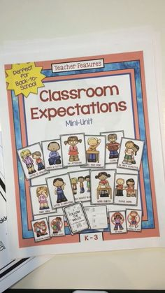 "CLASSROOM RULES This no prep classroom rules resource contains 15 Posters and ""I Can Follow the Rules"" interactive booklet are perfect for the K-3 classroom. The booklet has 6 pages and has room for writing and illustrating each expectation. Perfect for Responsive Classroom."