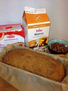 Banana Cream, Fika, Fodmap, Bread Baking, Lchf, Gluten Free Recipes, Free Food, Dairy Free, Bakery