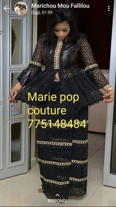 African Lace Dresses, African Fashion Dresses, African Clothes, African Attire, African Wear, African Style, Senegalese Styles, Afro Style, Fashion Vocabulary