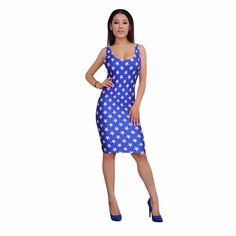 >> Click to Buy << American Flag Print Women Bandage Dress 2017 Independence Day O-Neck Off The Shoulder Skinny Party Sexy Ladies Bodycon Dresses #Affiliate