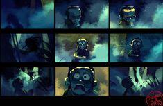 http://aurelien-predal.blogspot.com.es/2011/11/un-monstre-paris.html - A Monster in Paris