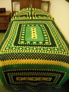 Baby Afghan to Bedspread