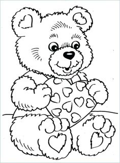 Valentine Coloring Book Pages Coloring 42 Free Valentine Coloring Pages. Valentine Coloring Book Pages Coloring Book World Printable Valentineloring P. Adult Coloring Pages, Teddy Bear Coloring Pages, Heart Coloring Pages, Coloring Pages To Print, Coloring Books, Free Coloring, Coloring Sheets, Printable Valentines Coloring Pages, Valentines Day Coloring Page